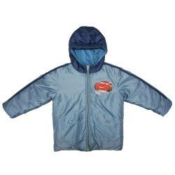 Disney Cars bélelt gyerek kabát (méret:104-128)