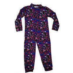 Monster High lányka belül bolyhos, overálos pizsama