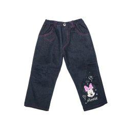 Disney Minnie gyerek bélelt farmer és kord nadrág (méret:92-128)