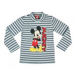 Disney Mickey csíkos hosszú ujjú póló