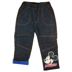 Disney Mickey bélelt baba| gyerek farmernadrág (méret:74-122)