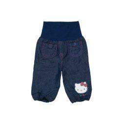 Hello Kitty bélelt baba  kisgyerek farmernadrág (méret:62-98)