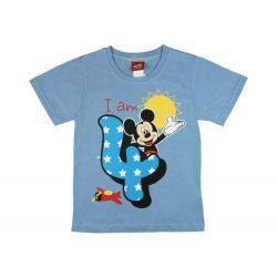 Disney Mickey szülinapos kisfiú póló 4 éves