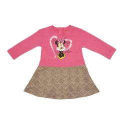 Disney Minnie hosszú ujjú ruha (méret: 74-116)