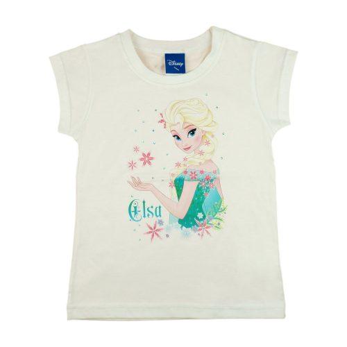 Disney Jégvarázs-Frozen rövid ujjú póló (méret: 104-140)