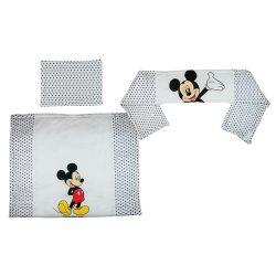 Disney Mickey 3 részes baba ágynemű szett
