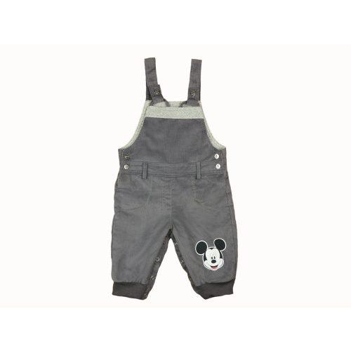 Disney Mickey baba bélelt kord kertésznadrág (méret: 68-92)