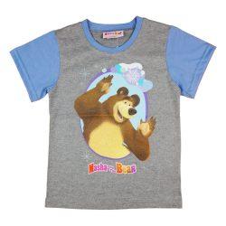 Mása és a medve gyerek rövid ujjú póló