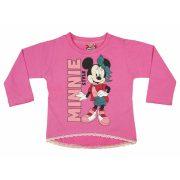 Disney Minnie baba/gyerek hosszú ujjú póló (méret: 74-116)
