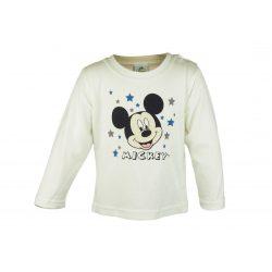 Disney Mickey hosszú ujjú póló (méret: 62-86) *isk