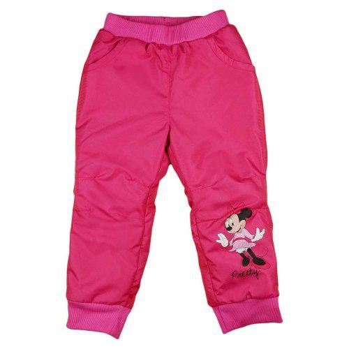 Disney Minnie baba/gyerek lányka bélelt nadrág (méret: 80-116)