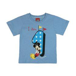 Disney Mickey szülinapos kisfiú póló 1 éves