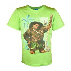 Disney Vaiana rövid ujjú fiú póló (méret:98-128)