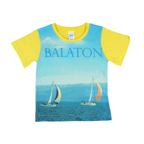 Balaton rövid ujjú fiú póló (méret: 92-158)