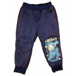 Paw Patrol/ Mancs őrjárat fiú bélelt vízlepergetős nadrág