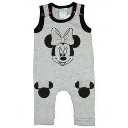 Disney Minnie ujjatlan, vállon patentos rugdalózó (méret: 74-98)