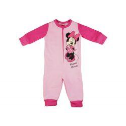 Disney Minnie belül bolyhos| overálos pizsama (méret: 74-122)