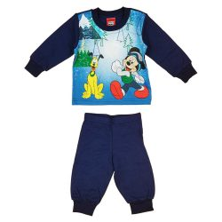Disney Mickey és Plútó mintás fiú pizsama Karácsony (méret: 74-110)