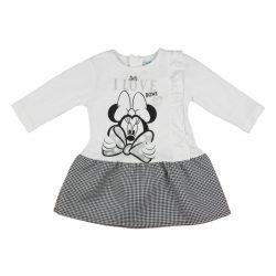 Disney Minnie hosszú ujjú lányka ruha (méret: 68-116)