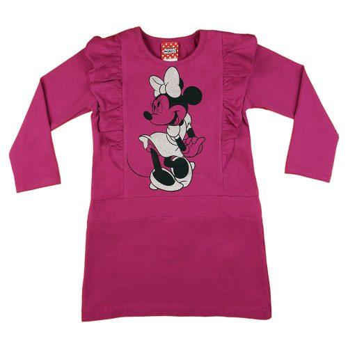 Disney Minnie hosszú ujjú lányka ruha (méret: 98-134)