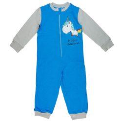 Unikornis mintás kislány overálos pizsama