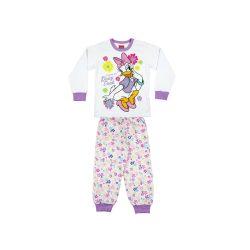 Daisy kacsa lányka hosszú pizsama (méret:104-140)