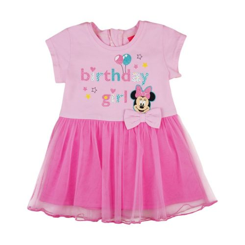 Disney Minnie szülinapos  tüllös rövid ujjú ruha