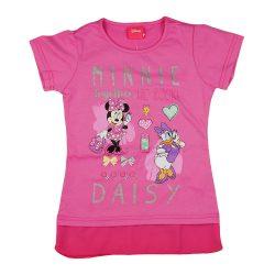Disney Minnie és Daisy kacsa lányka rövid ujjú póló