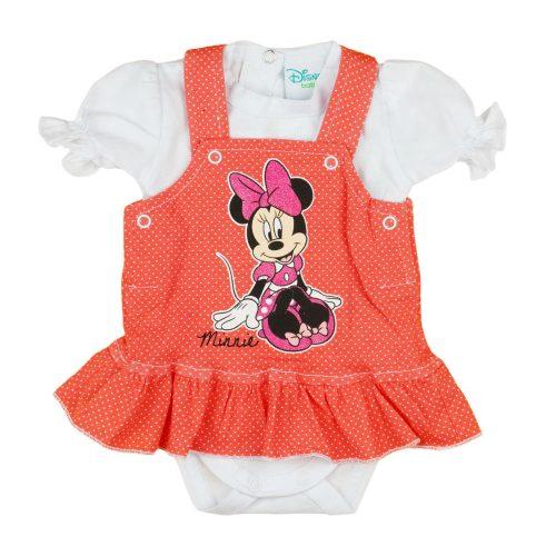 Disney Minnie 2 részes| kantáros szoknyás baba szett