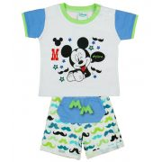 Disney Mickey bajusz mintás 2 részes fiú nyári szett