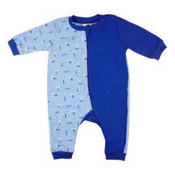 Fiú cipzáras, overálos pizsama