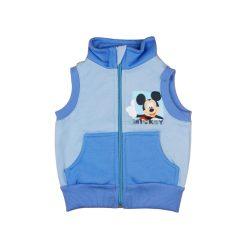 Disney Mickey belül bolyhos  zsebes fiú mellény
