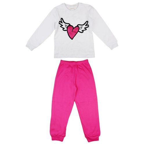 Szíves lányka pizsama