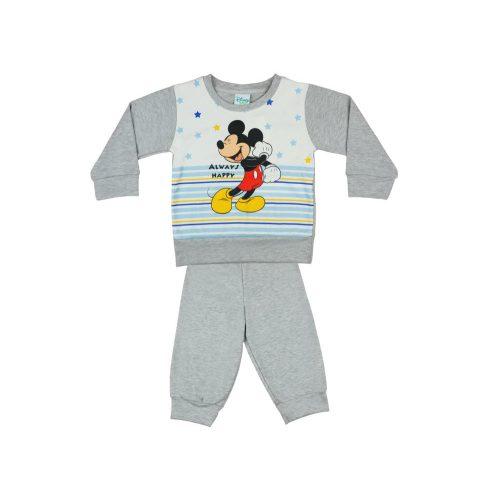 Disney Mickey fiú pizsama csillaggal| csíkkal