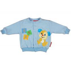 Fisher-Price Kutyus mintás kisfiú baba kocsikabát