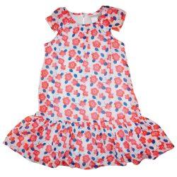 Virág mintás lányka ruha
