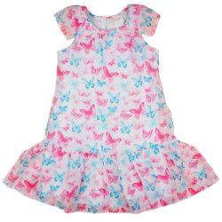 Pillangó mintás lányka ruha