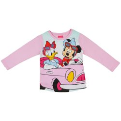 Disney Minnie és Daisy mintás lányka hosszú ujjú póló