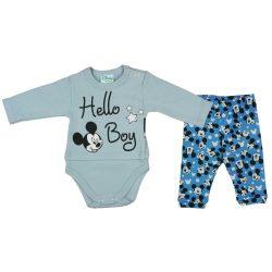 Disney Mickey bébi 2 részes szett Hello Boy!