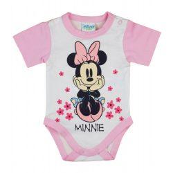 Disney Minnie Love rövid ujjú baba body