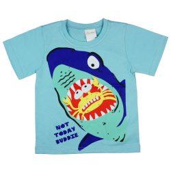 Cápás rövid ujjú póló