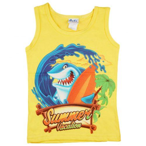 Cápás nyári gyerek trikó