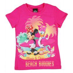Disney Minnie és Daisy mintás lány rövid ujjú póló