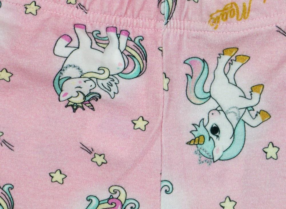 Unikornis lányka elasztikus pamut nadrág