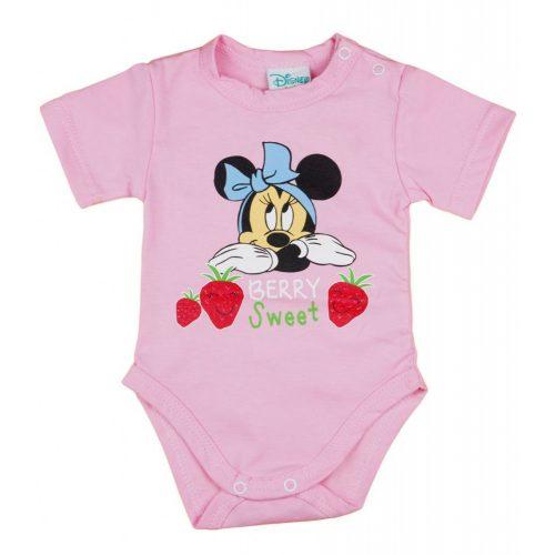 Disney Minnie epres baba body rózsaszín