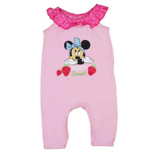 Disney Minnie vékony  nyári pamut rugdalózó