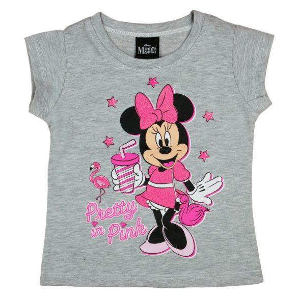 Disney Minnie csillámos hosszú ujjú kislány póló