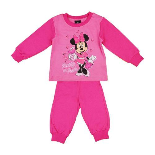 Disney Minnie flamingós  csillámos kislány pizsama