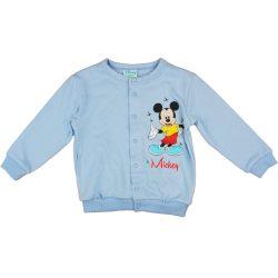 Disney Mickey világoskék baba kardigán