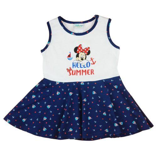 """Disney Minnie """"Hello summer"""" tengerész stílusú kislány ruha"""